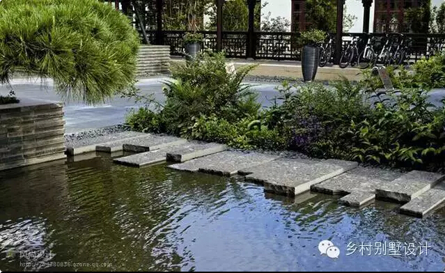 中式院落景观设计元素 - 乡村别墅设计